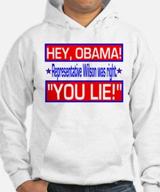 Obama Is A Liar Hoodie