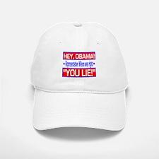 Obama Is A Liar Baseball Baseball Cap