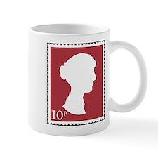 Jane Austen Stamp Small Mug