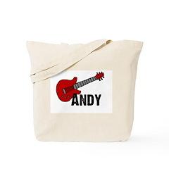 Guitar - Andy Tote Bag