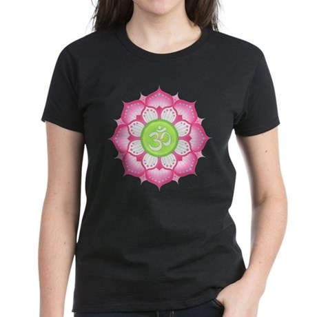 Aum Lotus Women's Dark T-Shirt