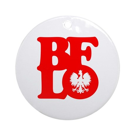 BFLO Polish Ornament (Round)