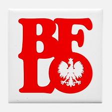 BFLO Polish Tile Coaster