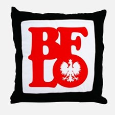 BFLO Polish Throw Pillow