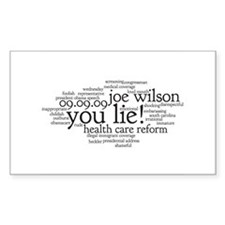 you lie Rectangle Decal