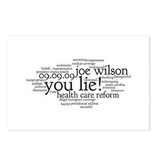 you lie Postcards (Package of 8)