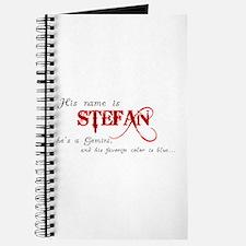 Cute Stefan Journal