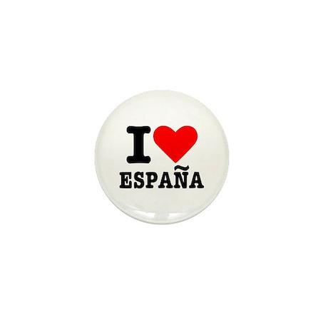 I love España - Spain Mini Button (100 pack)