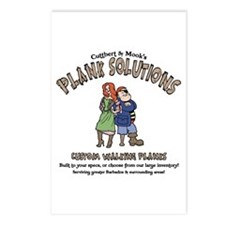 Plank Solutions Postcards (Package of 8)