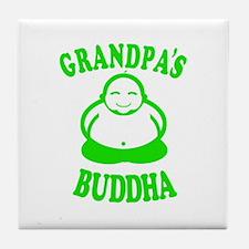 Cute Buddha baby Tile Coaster