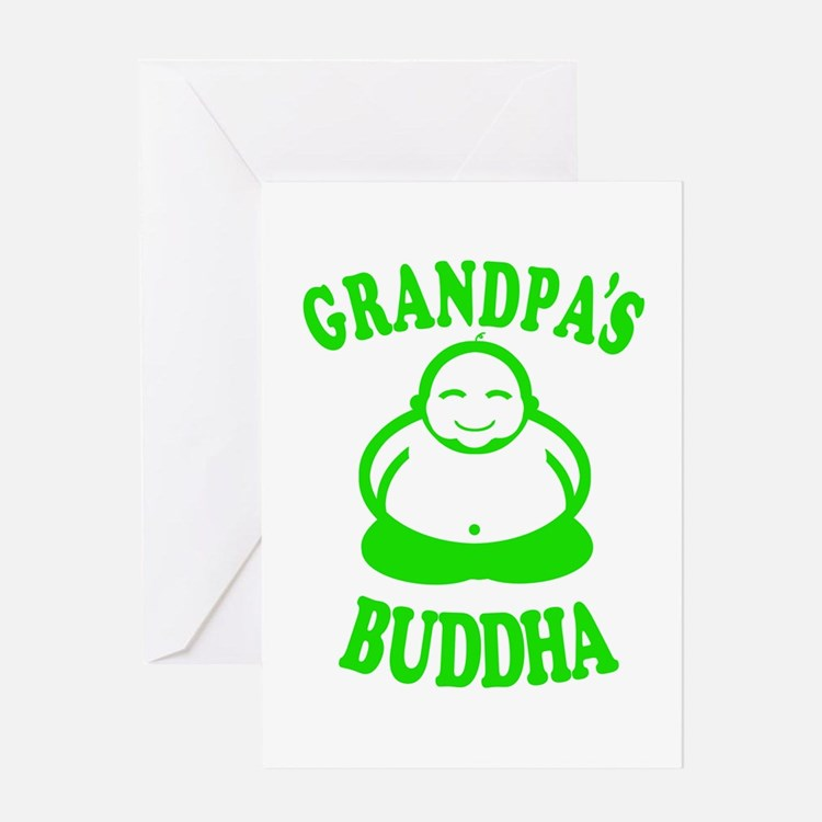 Cute Buddha baby Greeting Card