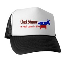 Chuck Schumer - a real pain Trucker Hat