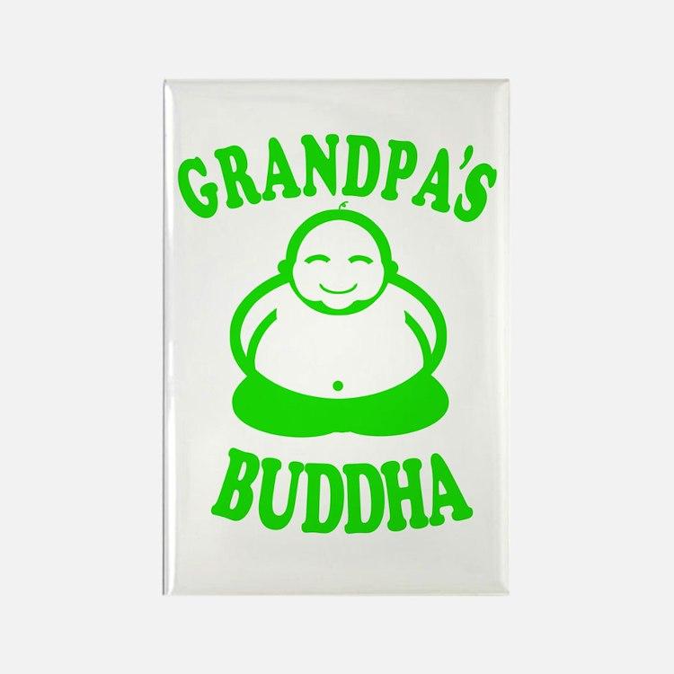 Cute Buddha baby Rectangle Magnet