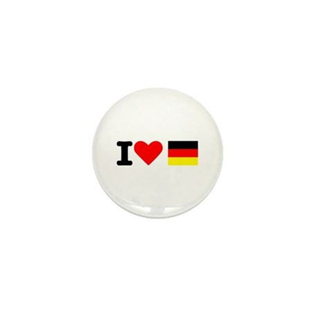 I love Germany Mini Button