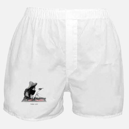 poker girl Boxer Shorts