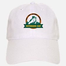 Veterans Day Baseball Baseball Cap