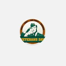 Veterans Day Mini Button (100 pack)