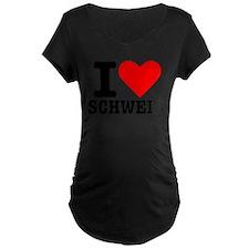 I love Schweiz - Switzerland T-Shirt