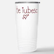 Te Iubesc! Travel Mug