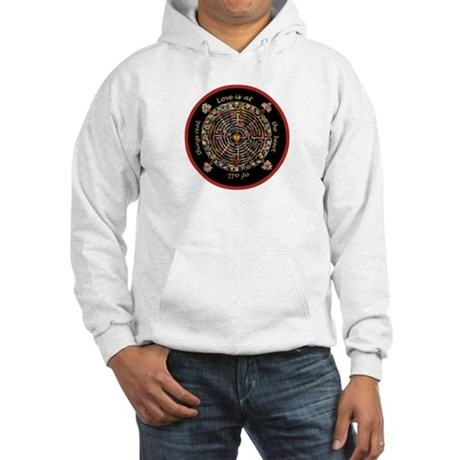 Heart Center #1 (PS) Hooded Sweatshirt