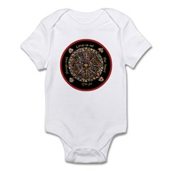 Heart Center #1 (PS) Infant Bodysuit