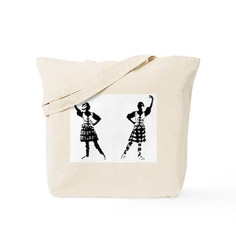 Highland Dancer Tote Bag