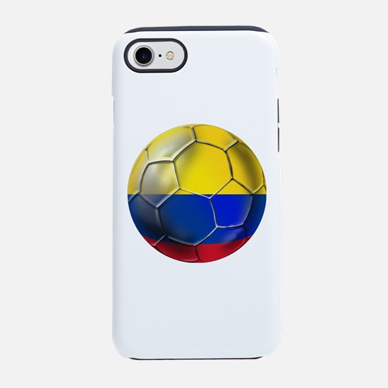 Colombia Soccer Ball iPhone 7 Tough Case