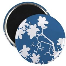 """Magnolia Branch Silhouette 2.25"""" Magnet (10 pack)"""