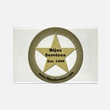 Rijas Services, LLC Rectangle Magnet