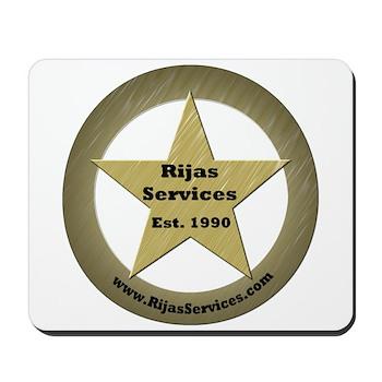 Rijas Services, LLC Mousepad