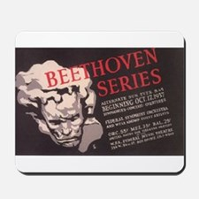 WPA Beethoven Series Concerts Mousepad