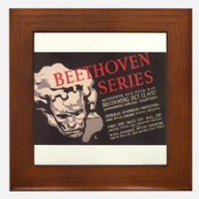 WPA Beethoven Series Concerts Framed Tile