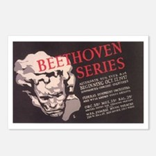 WPA Beethoven Series Concerts Postcards (Package o