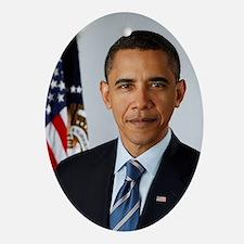 Barack Obama Christmas Ornament