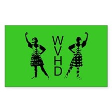 WVHD Rectangle Decal