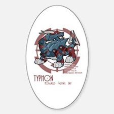Typhon Oval Decal