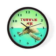 Turtle Me Wall Clock