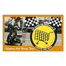 Shopping Cart Racing Team Decal
