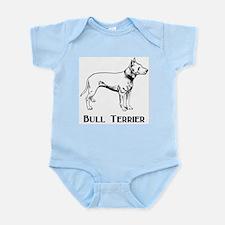 Bull Terrier Infant Creeper