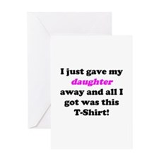 Cute Father of bride Greeting Card