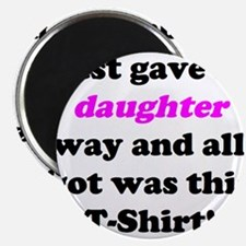 """Cute Father of the bride 2.25"""" Magnet (10 pack)"""