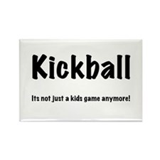 Kickball Rectangle Magnet