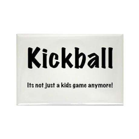 Kickball Rectangle Magnet