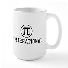 I'm Irrational PI Mug