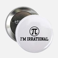 "I'm Irrational PI 2.25"" Button"