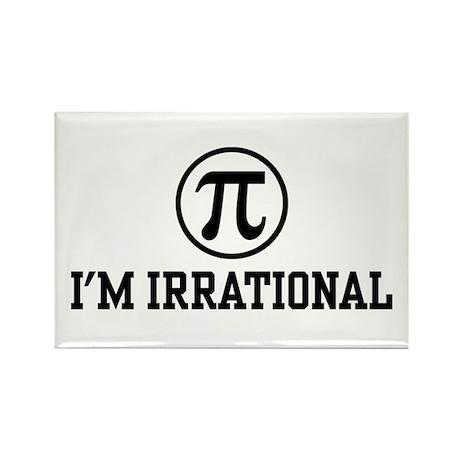 I'm Irrational PI Rectangle Magnet