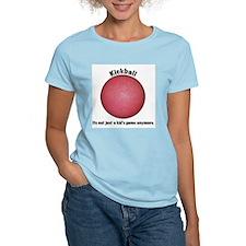 Kickball Women's Pink T-Shirt