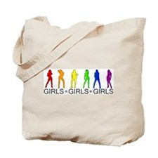 Girls Girls Girls Tote Bag