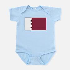 Qatar Flag Infant Creeper