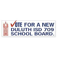 Change Duluth School Board Bumper Bumper Sticker